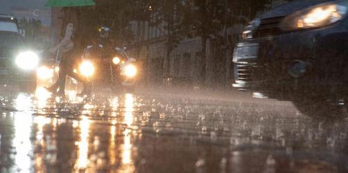 Gewitter, Schauer und Überschwemmungen durch Tief «Axel»