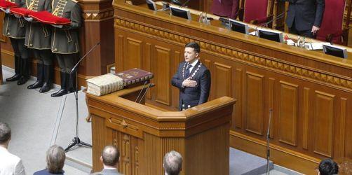 Neuer Präsident Selenskyj löst ukrainisches Parlament auf