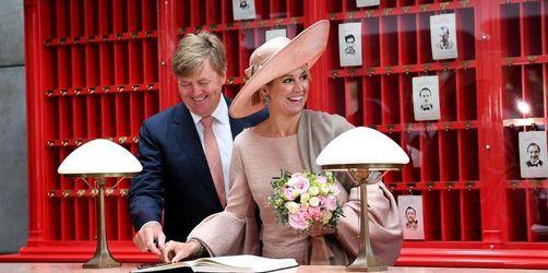 Niederländisches Königspaar besucht Potsdam