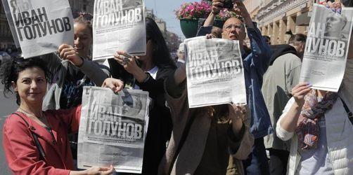 Neue Großkundgebung in Moskau gegen Polizei-Willkür