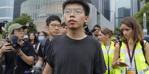 Proteste in Hongkong: Aktivist Wong aus Haft entlassen
