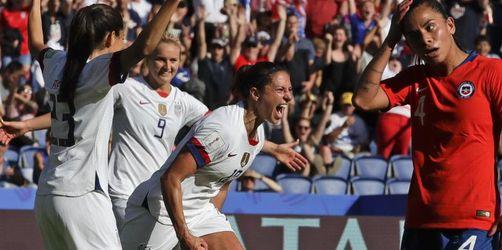 USA und Schweden nach klaren Siegen im WM-Achtelfinale