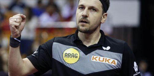 Tischtennis-Ass Boll gelingt Olympia-Qualifikation
