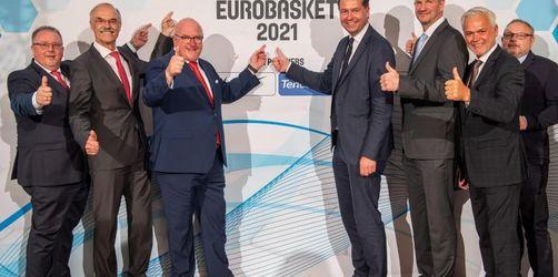 Jubel bei deutschen Basketballern: Heim-EM 2021 perfekt