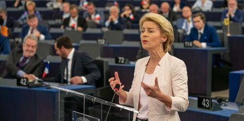Von der Leyen appelliert an kritisches EU-Parlament