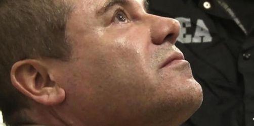 Drogenboss «El Chapo» muss lebenslang ins Gefängnis