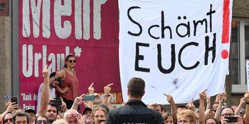 Demonstrationen gegen Rechts in Kassel und Halle