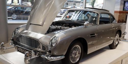 Mehr als 6 Millionen Dollar für Bonds Aston Martin