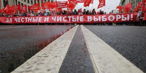 Mahnwachen in Moskau für Freilassung politischer Gefangener
