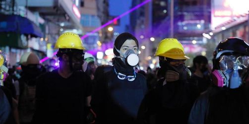 Demonstranten in Hongkong trotzen den Warnungen aus Peking