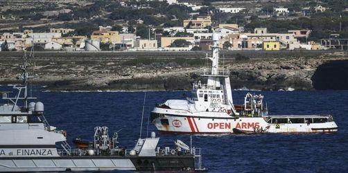 Italien will Migranten von «Open Arms» nach Spanien bringen
