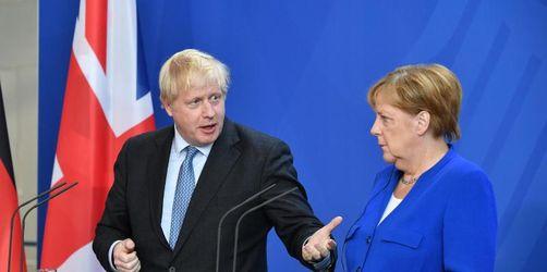 Merkel und Johnson gesprächsbereit - aber hart beim Brexit