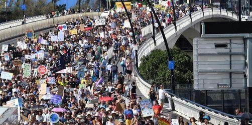 Weltweiter Massenprotest für eine bessere Klimapolitik