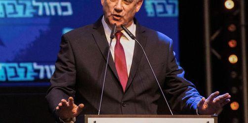 Arabische Liste empfiehlt Gantz als Israels Premier