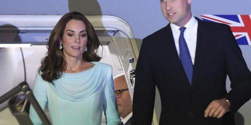 Pakistan-Reise: William und Kate treffen politische Führer
