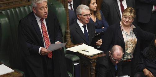Brexit-Abstimmung: Parlamentspräsident Bercow entscheidet