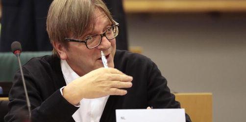 Verhofstadt stellt Bedingungen zum Brexit-Vertrag