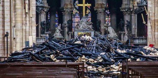 Experten rechnen mit sehr langsamem Wiederaufbau Notre-Dames