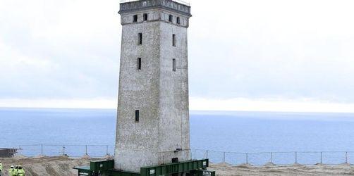 Absturz droht: Dänischer Leuchtturm muss umziehen