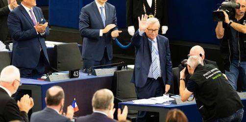 Rührung und Witz: Jean-Claude Juncker nimmt Abschied