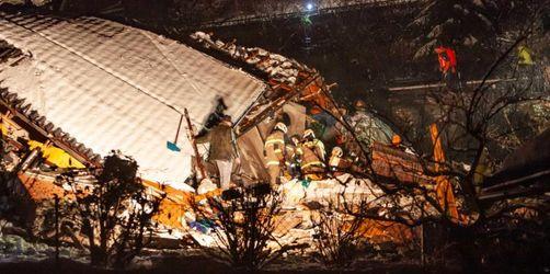 Unwetter in Österreich: Mann stirbt nach Erdrutsch