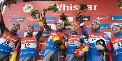 Rodel-Doppelsitzer führen im Weltcup
