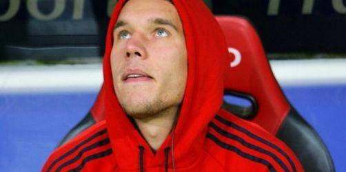 «Bild.de»: Entscheidung über Podolski-Zukunft nächste Woche