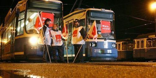 Streiks im bayerischen Nahverkehr beschlossene Sache