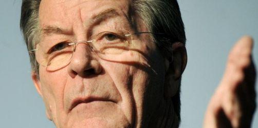 Müntefering fordert NPD-Verbot, Absage an Linke