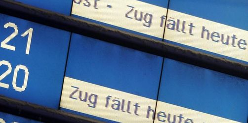 Montag ab 5Uhr Bahnstreik: Auswirkungen auch auf gesamten Regional und S-Bahn Verkehr