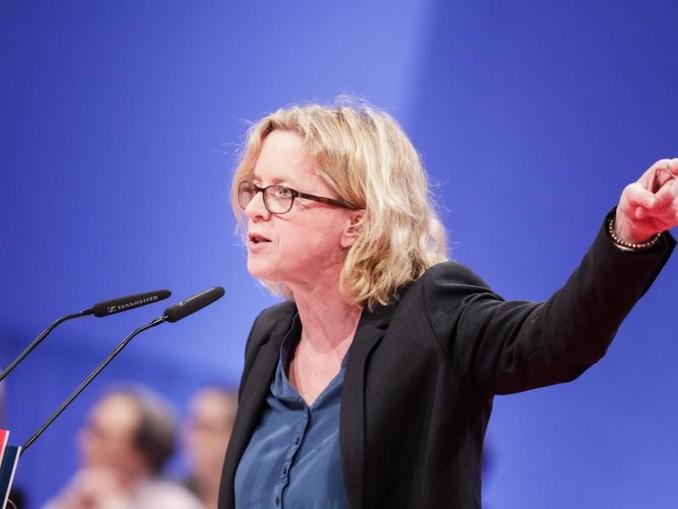 Die Landesvorsitzende der Bayern-SPD, Natascha Kohnen. /Archiv
