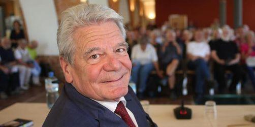 Jüdischer Kulturpreis für Alt-Bundespräsident Gauck