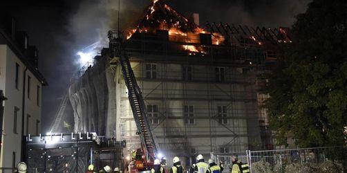 Brand im Kloster Rottenbuch: Anwohner helfen beim Löschen