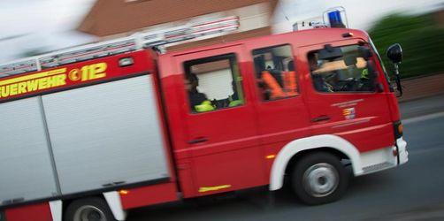 Brand in Einfamilienhaus: ein Verletzter