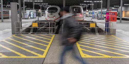 Zugverkehr wegen Warnstreiks größtenteils eingestellt