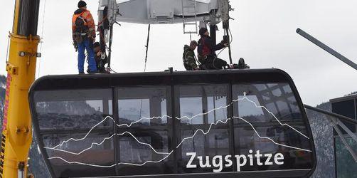 Neue Kabine für Zugspitzbahn da