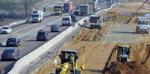 Autofahrer müssen sich 2019 auf Großbaustellen einstellen