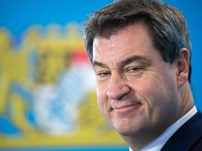 Markus Söder (CSU), Ministerpräsident von Bayern. /Archiv