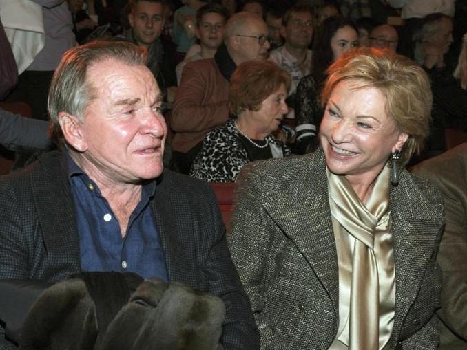 Der Schauspieler Fritz Wepper und seine Frau Angela Wepper. /Archiv