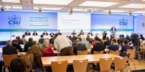 Parteireform: CSU will Volkspartei und Zukunftsbewegung sein