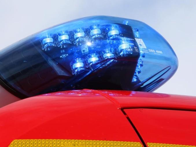 Ein Blaulicht der Feuerwehr. /Archiv
