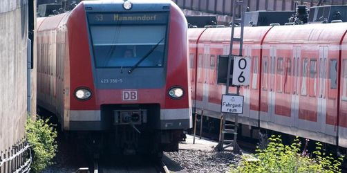 Wieder macht Ballon Probleme bei Münchner S-Bahn