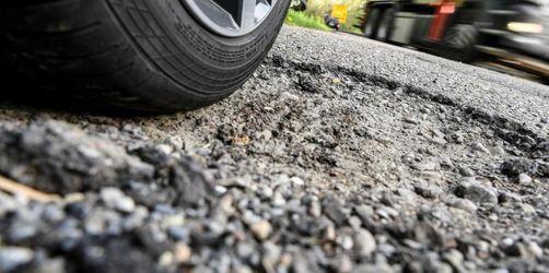 Mehr als ein Fünftel der Bundesstraßen in schlechtem Zustand