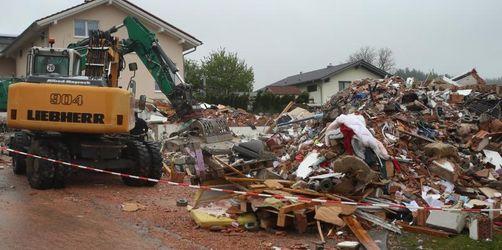Wohnhausexplosion: Kripo ermittelt wegen fahrlässiger Tötung