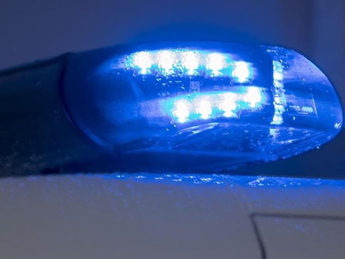 Ein Blaulicht leuchtet auf dem Dach eines Polizeiautos. /Archivbild