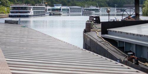 Schleuse auf dem Main-Donau-Kanal wieder geöffnet