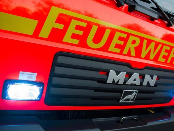 Ein Löschfahrzeug der Feuerwehr. /Archivbild