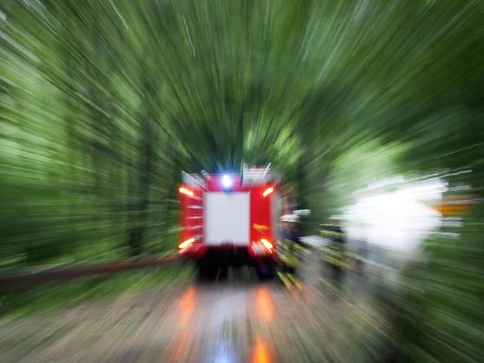 Ein Einsatzwagen der Feuerwehr. /dpa