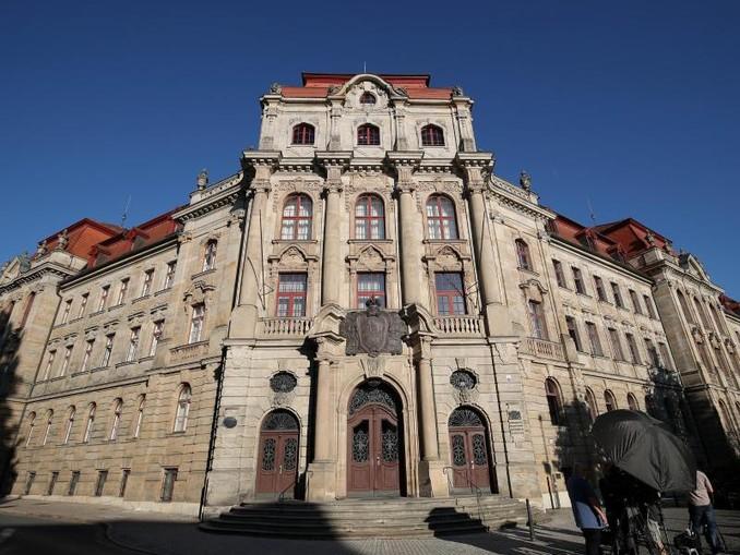 Das Landgericht Bayreuth. /dpa/Archivbild