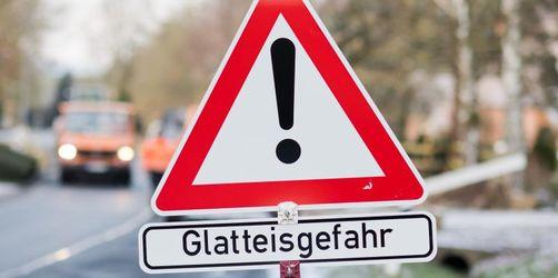 Regen und Glatteis in Bayern